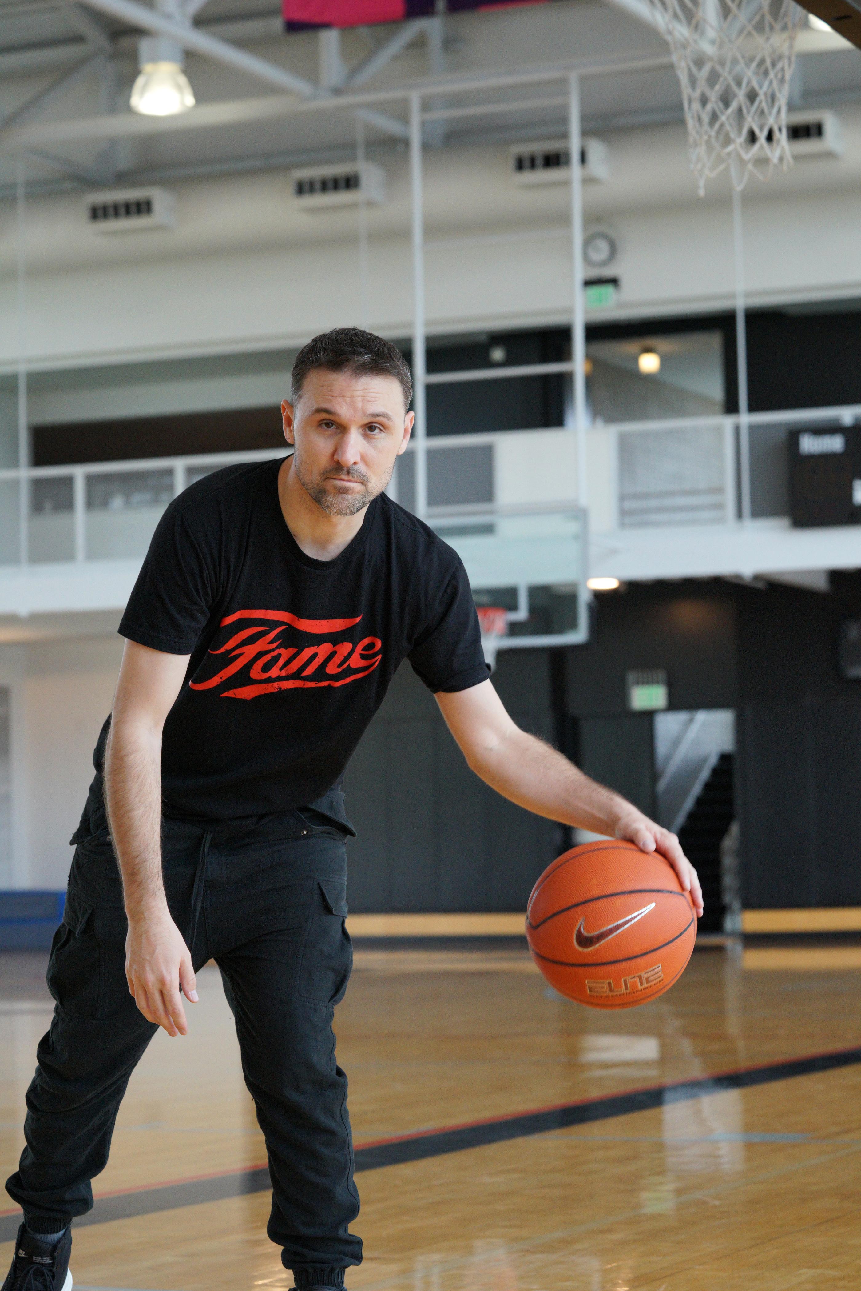 Tony Hardman in ATW 'Fame' tee.